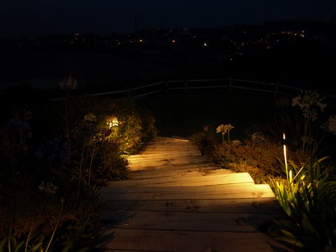 Westlake Village Landscape Lighting Steps