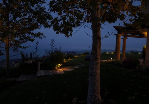 Westlake Village Landscape Lighting Pathways